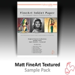 Hahnemühle DFA Sample Pack - Matt Fine Art - textured
