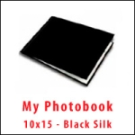 My PhotoBook 10x15 - Black Silk